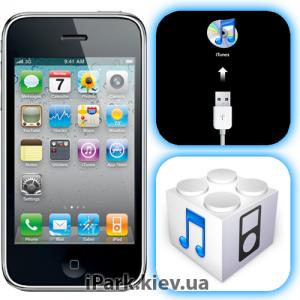 iphone 3gs iPark программный ремонт iphone 3gs