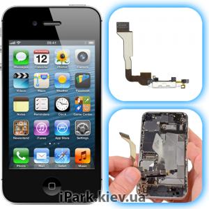 iphone 4s iPark замена системного разъема и микрофона в iphone 4s