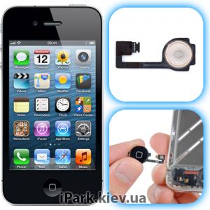 iphone 4 iPark замена кнопки home в iphone 4