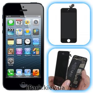 iphone 5 iPark замена сенсорного стекла и дисплея retina в iphone 5