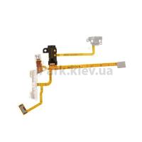 Шлейф кнопок громкости коннектор наушников и вибро для Apple iPhone 2G